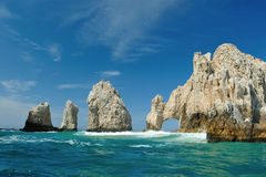 Der goldene Bogen in Los Cabos Lizenzfreies Stockfoto
