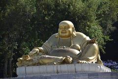 Der goldene Buddha lizenzfreie stockfotografie
