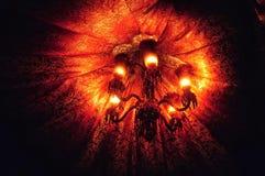 Der goldene Leuchter Stockbild