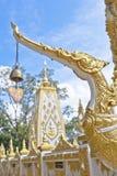 Der goldene Schwan Stockbild