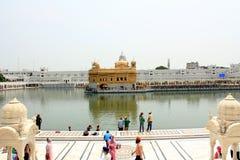 Der goldene Tempel-Komplex Stockbild