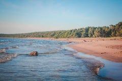 Der Golf von Finnland Lizenzfreies Stockbild