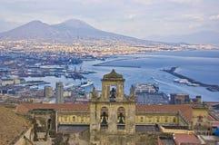 Der Golf von Neapel Lizenzfreie Stockfotos