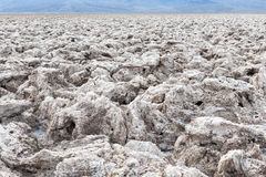 Der Golfplatz des Teufels, Nationalpark Death Valley, USA Lizenzfreies Stockfoto