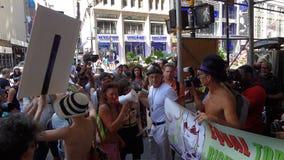 Der GoTopless-Tag 2013 in NYC 115 Lizenzfreie Stockfotos