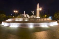 Der Gott Neptun-Brunnen Stockfotografie