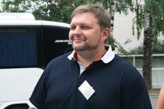 Der Gouverneur der Kirow-Region Nikita Belykh Stockbild