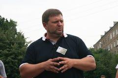 Der Gouverneur der Kirow-Region Nikita Belykh Stockfotos