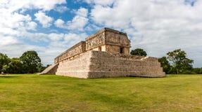 Der Gouverneurpalast, archäologische Fundstätte Uxmal, Yucatan, Mexiko Stockfoto
