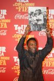 Der größte Fußballspieler Pelé der Welt lizenzfreie stockfotos