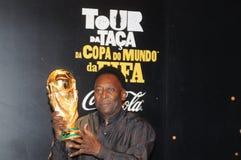 Der größte Fußballspieler Pelé der Welt stockbild