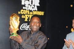 Der größte Fußballspieler Pelé der Welt lizenzfreies stockfoto