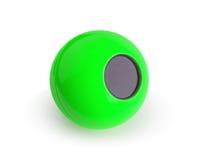 Der grüne Ball der Magie 8 Lizenzfreie Stockbilder
