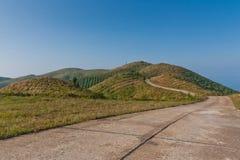 Der grüne Hügel. Lizenzfreies Stockbild