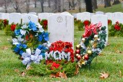Der Grabstein einer Mutter in Arlington-nationalem Friedhof - Washington DC Stockfotografie