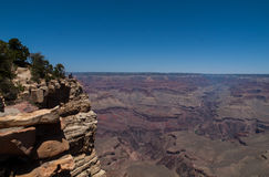 Der Grand Canyon Lizenzfreies Stockfoto