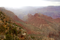 Der Grand Canyon Lizenzfreies Stockbild
