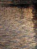 Der grelle Glanz auf dem Wasser lizenzfreie stockfotos