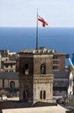 Der Grimaldina Kontrollturm Stockfoto