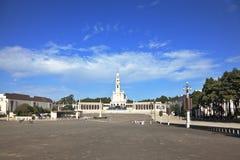 Der großartige Erinnerungs- und religiöse Komplex in Fatima stockfotografie