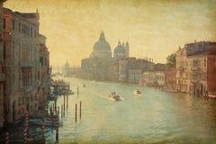 Der großartige Kanal in Venedig Stockfotos