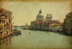 Der großartige Kanal in Venedig Lizenzfreies Stockbild