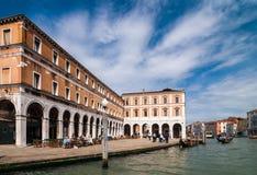 Der großartige Kanal in Venedig, Italien Lizenzfreies Stockbild