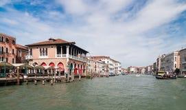 Der großartige Kanal in Venedig, Italien Lizenzfreies Stockfoto