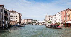Der großartige Kanal in Venedig, Italien Lizenzfreie Stockfotos