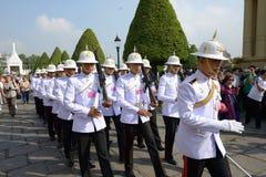 Der großartige Palast und der Tempel von Emerald Buddha Lizenzfreie Stockfotos