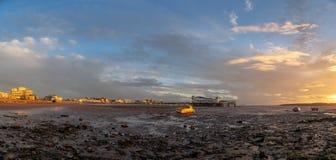 Der großartige Pier, Weston-Super-Stute stockfotos