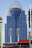 Der große amerikanische Turm am Königin-Stadtplatz in Cincinnati Lizenzfreies Stockfoto