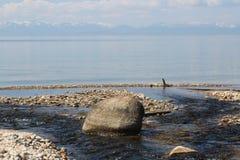 Der große Baikalsee, Russland lizenzfreies stockbild