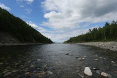 Der große Baikalsee, Russland lizenzfreie stockfotografie