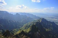 Der große Berg Tianmen Shan stockfotos