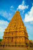 Der große Brihadeeswara-Tempel von Tanjore stockfotografie