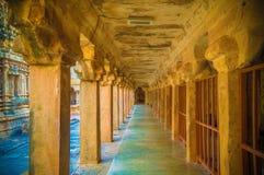 Der große Brihadeeswara-Tempel von Tanjore stockfotos