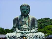 Der große Buddha, Daibutso stockbilder