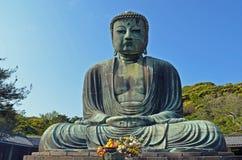Der große Buddha von Kamakura Stockbilder