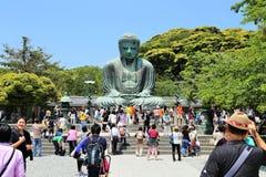 Der große Buddha von Kamakura Stockbild
