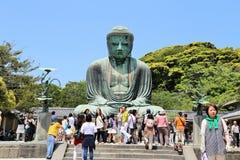 Der große Buddha von Kamakura Stockfoto
