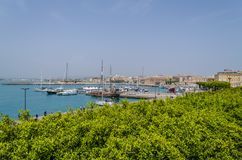 Der große Hafen von Syrakus lizenzfreie stockfotografie
