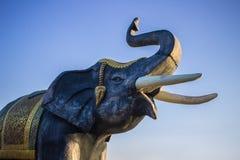 Der große Körperelefant Stockbild