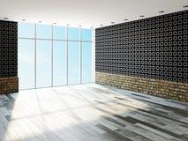 Der große leere Raum Stockbild