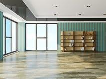 Der große leere Raum Stockfotos