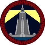 Der große Pharos Leuchtturm Stockfotos