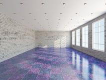 Der große Raum mit Fenster Lizenzfreies Stockbild
