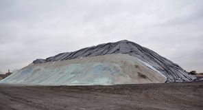 Der große Salz-Berg Lizenzfreie Stockfotografie