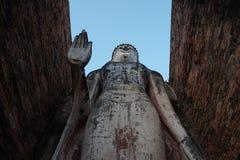 Der große stading Buddha Stockfotografie