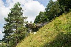 Der große Stein Stockfotografie